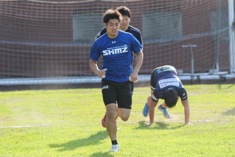 浅見晋吾選手インタビューブルーシャークス 画像